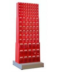 Стойка двусторонняя напольная Стелла-техник 406-05-06-03 (600х380х1650)