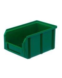 Пластиковый ящик Стелла-техник V-2-зеленый 234х149х120мм, 3,8 литра